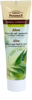 Green Pharmacy Hand Care Aloe Moisturizing and Softening Cream for Hands and Nails