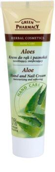 Green Pharmacy Hand Care Aloe хидратиращ и овлажняващ крем за ръце и нокти