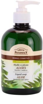 Green Pharmacy Hand Care Aloe sapone liquido