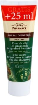 Green Pharmacy Foot Care crema per i piedi con tendenza alle callosità e agli ispessimenti