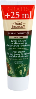 Green Pharmacy Foot Care krém na chodidla se sklonem k mozolům a hrubé pokožce