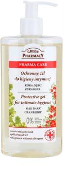 Green Pharmacy Pharma Care Oak Bark Cranberry védő gél intim higiéniára
