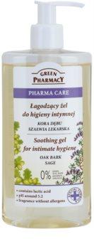 Green Pharmacy Pharma Care Oak Bark Sage успокояващ гел за интимна хигиена