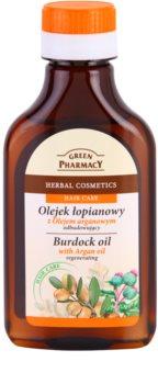 Green Pharmacy Hair Care Argan Oil Burdock Hair Oil with Regenerative Effect