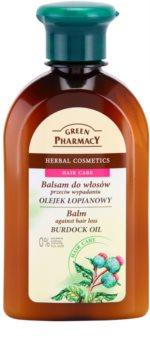 Green Pharmacy Hair Care Burdock Oil Balsam för att behandla håravfall