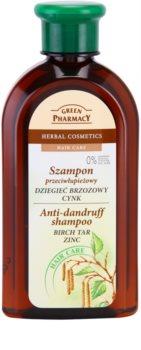 Green Pharmacy Hair Care Birch Tar & Zinc Hilsettä Ehkäisevä Hiustenpesuaine