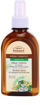 Green Pharmacy Hair Care bylinný elixír pro poškozené a lámavé vlasy