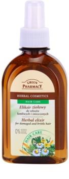Green Pharmacy Hair Care elixir de ervas para cabelos danificados e quebradiços