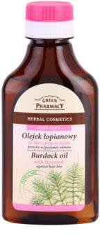 Green Pharmacy Hair Care Horsetail óleo de bardana anti-queda