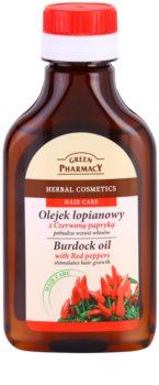 Green Pharmacy Hair Care Red Peppers масло от репей за стимулиране растежа на косата
