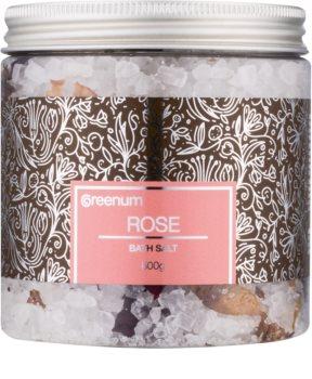 Greenum Rose соль для ванны