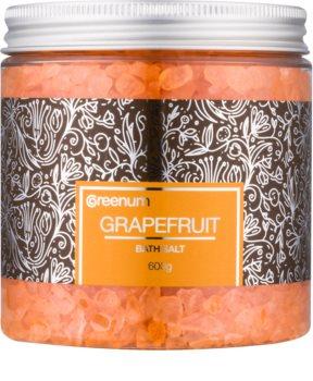 Greenum Grapefruit soľ do kúpeľa