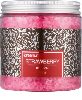 Greenum Strawberry соль для ванны