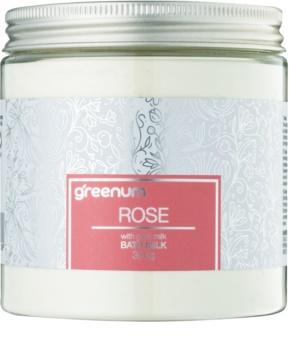 Greenum Rose leite de banho em pó