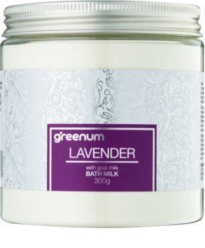 Greenum Lavender γάλα μπάνιου σε σκόνη