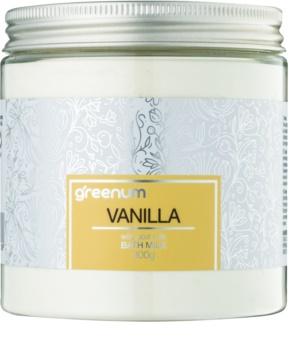 Greenum Vanilla Kylpymaitojauhe