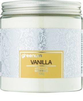 Greenum Vanilla leite de banho em pó