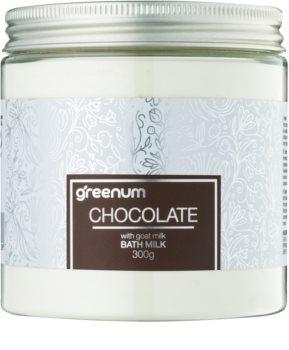 Greenum Chocolate молочко для ванны в порошке