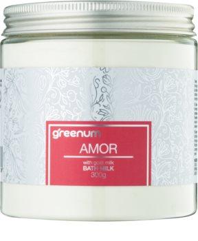 Greenum Amor mléko do koupele v prášku