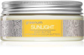 Greenum Sunlight Körperbutter mit Bambus Butter
