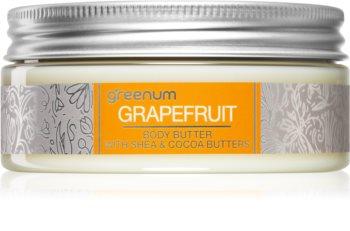 Greenum Grapefruit Körperbutter mit Bambus Butter