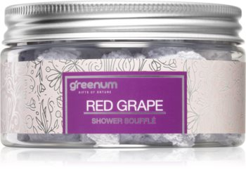 Greenum Red Grape testápoló szuflé zuhanyba
