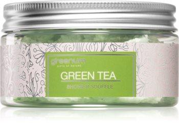 Greenum Green Tea testápoló szuflé zuhanyba