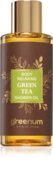 Greenum Green Tea успокояващо душ-масло