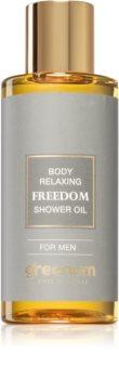 Greenum Freedom óleo de banho refrescante para homens