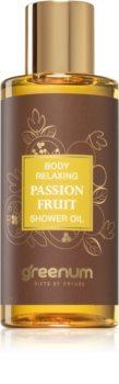 Greenum Passion Fruit óleo de duche emoliente