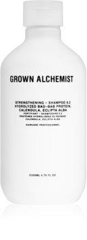 Grown Alchemist Strengthening Shampoo 0.2 erősítő sampon a károsult hajra
