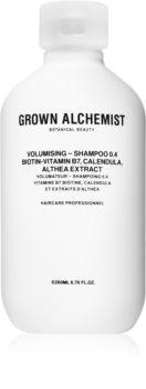 Grown Alchemist Volumising Shampoo 0.4 Voimistava Hiustenpesuaine Hennoille Hiuksille