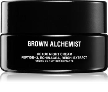 Grown Alchemist Detox Night Cream detoksujący krem na noc o działaniu przeciwzmarszczkowym