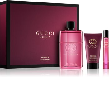 Gucci Guilty Absolute Pour Femme coffret cadeau V. pour femme