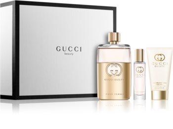 Gucci Guilty Pour Femme coffret cadeau V. pour femme