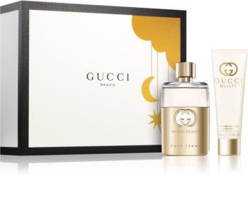 Gucci Guilty Pour Femme set cadou III. pentru femei