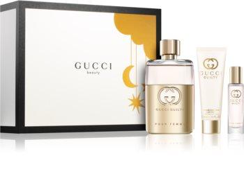 Gucci Guilty Pour Femme ajándékszett I. hölgyeknek