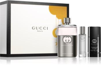 Gucci Guilty Pour Homme set cadou III. pentru bărbați