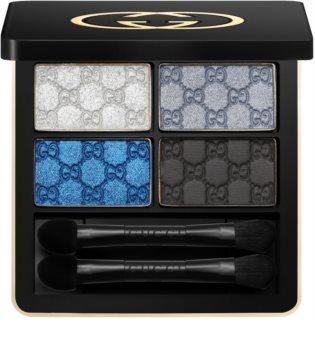 Gucci Eye Magnetic Color Shadow Quad paleta de sombras de ojos