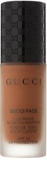 Gucci Face Lustrous Glow Foundation tekući puder s posvjetljujućim učinkom SPF 25