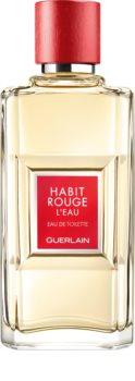 GUERLAIN Habit Rouge L'Eau тоалетна вода за мъже