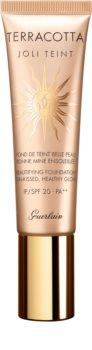 GUERLAIN Terracotta Joli Teint Beautifying Foundation élénkítő make-up a természetes hatásért SPF 20