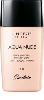 GUERLAIN Lingerie de Peau Aqua Nude Water-Infused Perfecting Fluid lahki vlažilni tekoči puder SPF 20