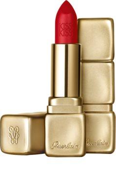 GUERLAIN KissKiss Hydrating Matte Lip Colour Mattierender Lippenstift