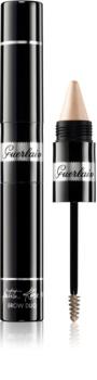 Guerlain La Petite Robe Noire Brow Duo gelová řasenka na obočí s rozjasňovačem v tužce