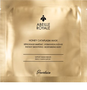 GUERLAIN Abeille Royale Honey Cataplasm Mask платнена маска с хидратиращ и изглаждащ ефект