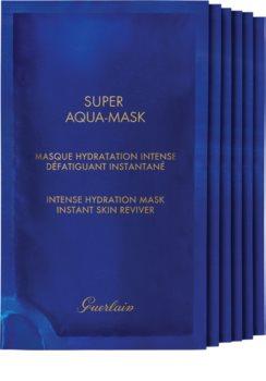GUERLAIN Super Aqua Intense Hydration Mask mască textilă hidratantă