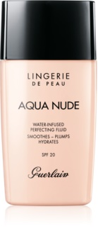 GUERLAIN Lingerie de Peau Aqua Nude Water-Infused Perfecting Fluid lehký hydratační make-up SPF 20
