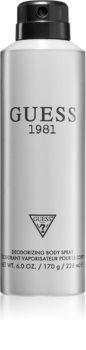Guess 1981 deodorant spray pentru bărbați