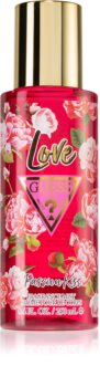 Guess Love Passion Kiss dezodor és testspray hölgyeknek